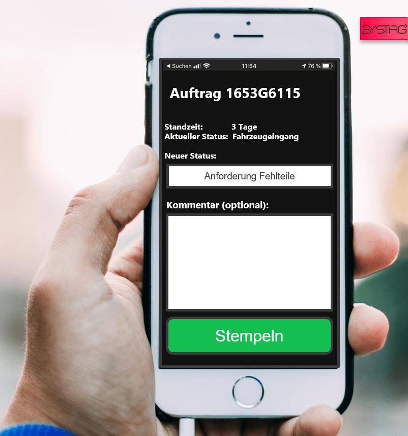 Digtaler Laufzettel App