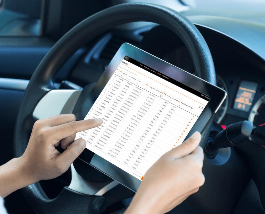 Preiskalkulation für Gebrauchtwagen digitalisiert - iPad